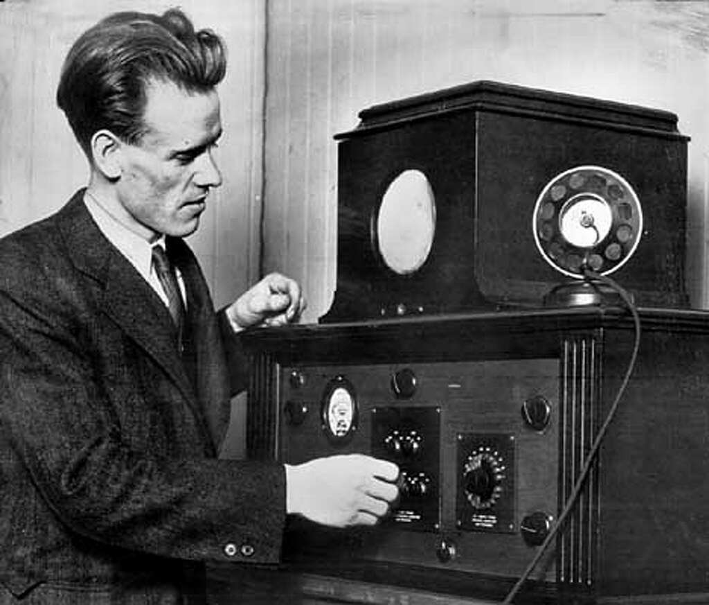 Inventor's wife saw first glimpse of TV / Philo T. Farnsworth's ...