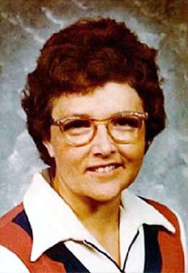 FILE--Myrna Opsahl, shown in this undated photo, died during the April 21, 1975, robbery of the Crocker National Bank in the suburb of Carmichael, Calif. Three former Symbionese Liberation Army members were arrested Wednesday, Jan. 16, 2002, in connection with the 27-year-old bank heist and shooting death of Opsahl, officials said. (AP Photo/Family photo via Sacramento Bee)