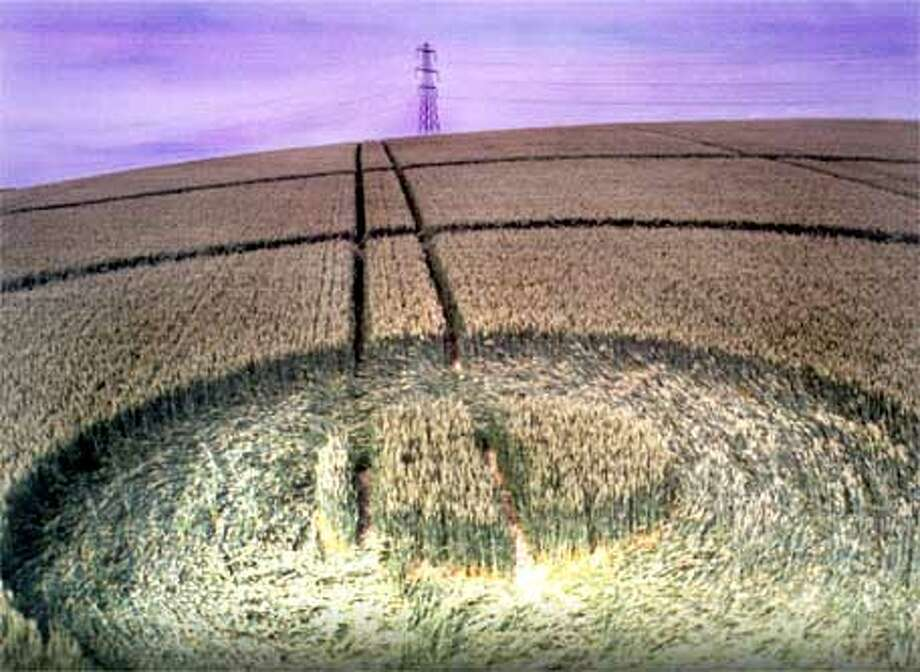 CROP CIRCLES Quest for Truth  (HANDOUT PHOTO) Photo: HANDOUT