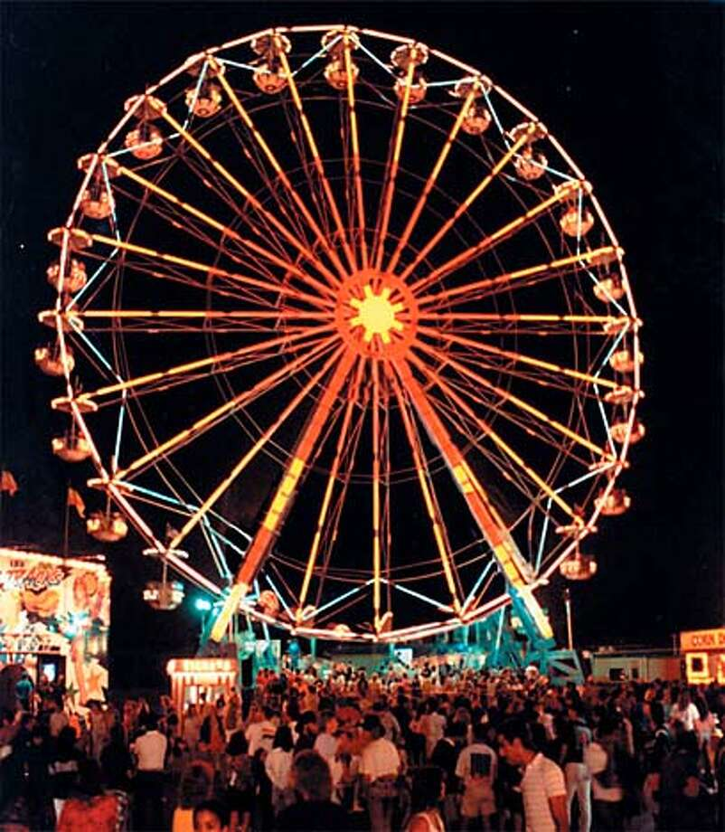 TRAVEL ST. LOUIS, Mo. -- A giant Ferris wheel, similar to the one that wowed the crowds at the 1904 World's Fair, will rotate in Forest Park to help St. Louis celebrate the centennial of the fabled fair.  Copyright � St. Louis Convention & Visitors Commission