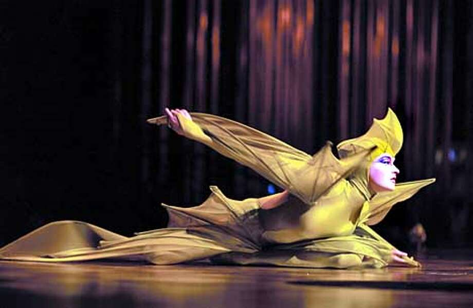 Undated handout photo of Cirque du Soleil performing Varekai.  Photo by Jean-Francois Gratton Photo: HANDOUT
