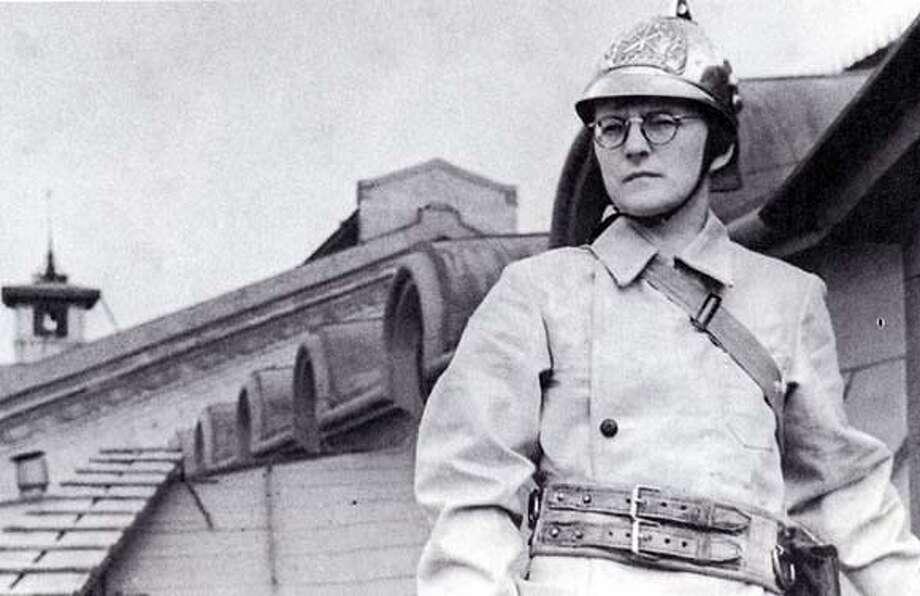 Dmitri Shostakovich in 1941.