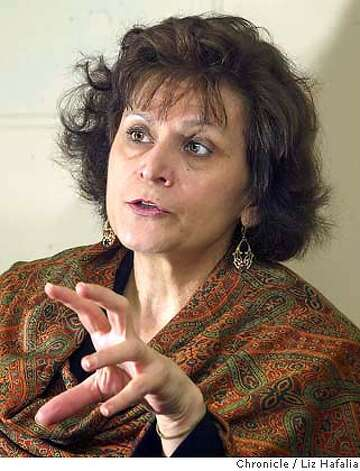 Regina Waldman, president of JIMENA--Jews indigenous to the Middle East and North Africa). She was born in Libya. Shot on 3/2/04 in San Francisco. LIZ HAFALIA / The Chronicle Photo: LIZ HAFALIA