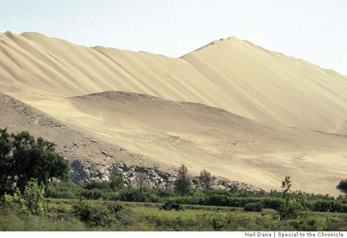South of Trujillo and north of Lima. Photo by Neil Dana, special to the Chronicle