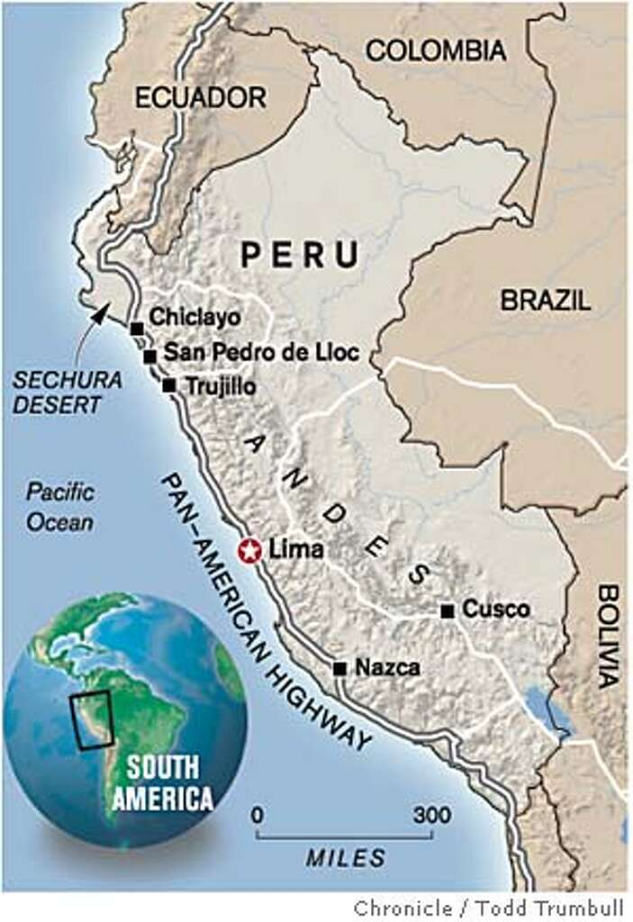 PERU  A Desert By Any Other Name  The desert coast of Peru is as