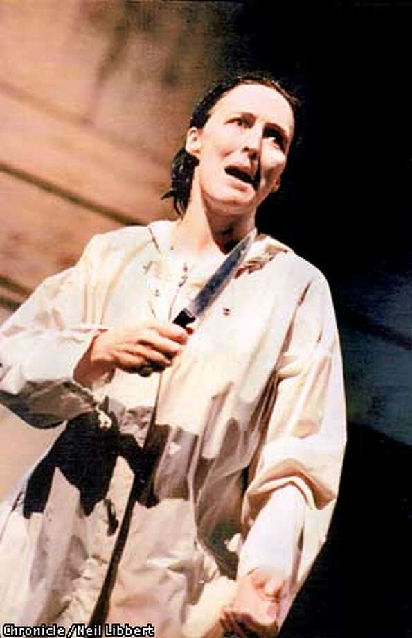 Fiona Shaw as MEDEA. PHOTO CREDIT: NEIL LIBBERT/EXCLUSIVE TO THE CHRONICLE Photo: HANDOUT