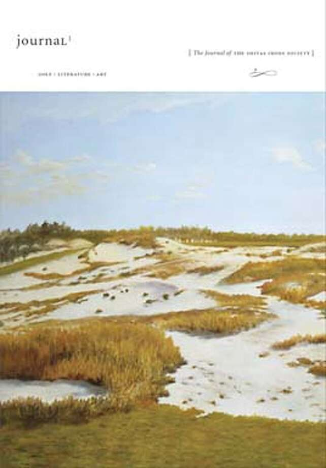 On the cover of the Journal of the Shivas Irons Society is a painting of New Jersey's Pine Valley Golf Course.