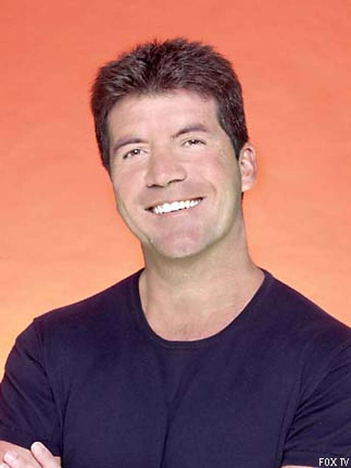 """American Idol"" talent judge Simon Cowell. Fox publicity photo by Joe E. Viles"