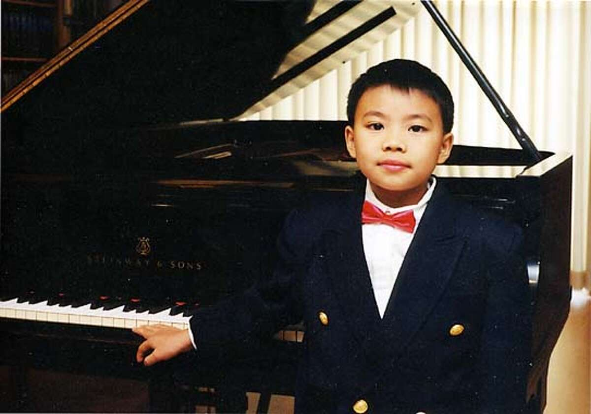 Kit Armstrong, 10, sophomore at Utah State. He's a computer genius and raises chickens. He's giving a soldout piano recital at Stanford Lively Performances on Nov. 10.