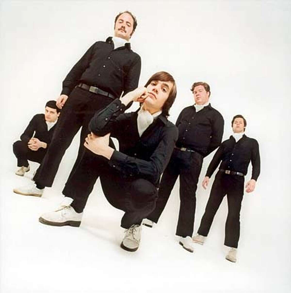 Stones pupils: The Hives
