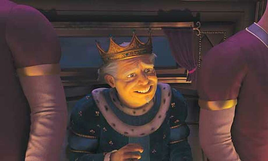 King Harold, the character voiced by John Cleese.