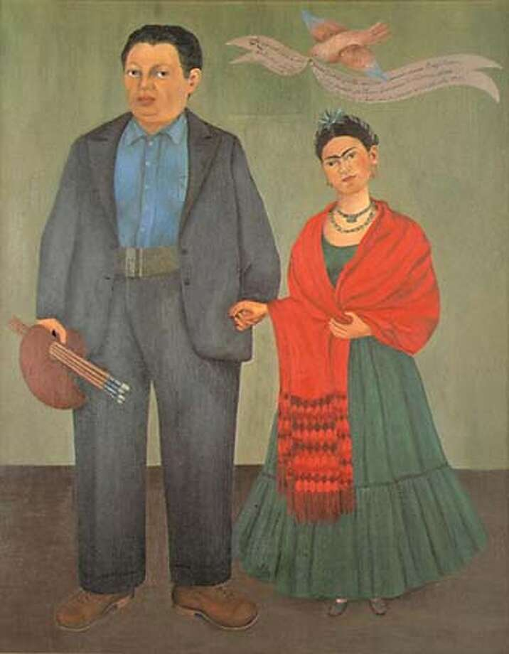 foto de Kahlo, Rivera in S.F. / Couple's influence seen since first visit ...