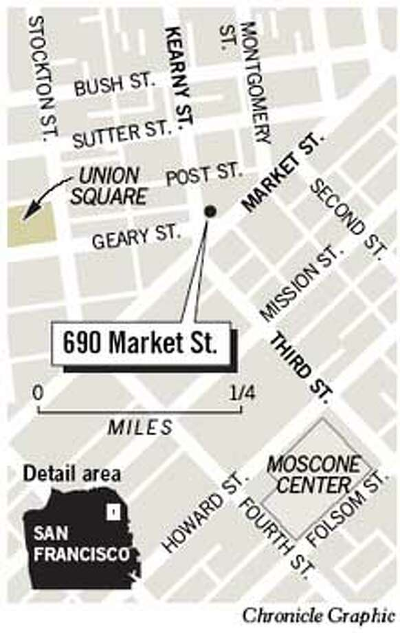 690 Market Street. Chronicle Graphic