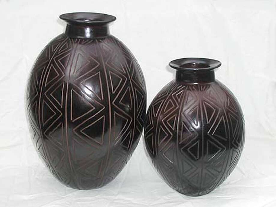 "/ for: Home The second image is of the�Chulucanas pottery. The retail price would be around $65-$70 for the medium and $115 for the large one(14 ""H). The woman's name who help the artisans in Peru revive this traditional technique back in the 60's was Gloria Joyce. It was a Spanish volunteer�visiting the Peruvian village in the 80's who brought the technique to the women in Ducuale Grande in northern Nicaragua."