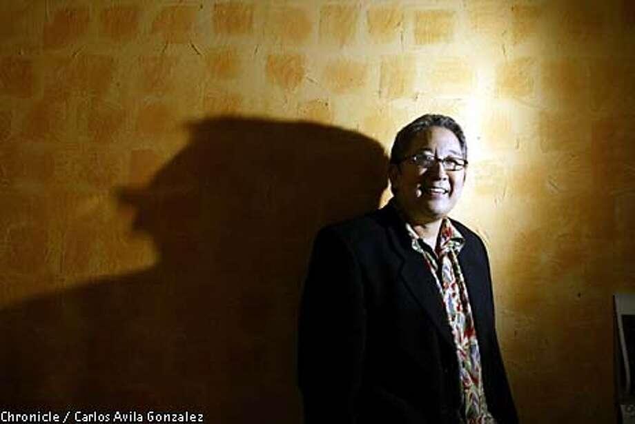 Playwright Phillip Kan Gotanda in his San Francisco, Ca., home.  (BY CARLOS AVILA GONZALEZ/THE SAN FRANCISCO CHRONICLE) Photo: CARLOS AVILA GONZALEZ