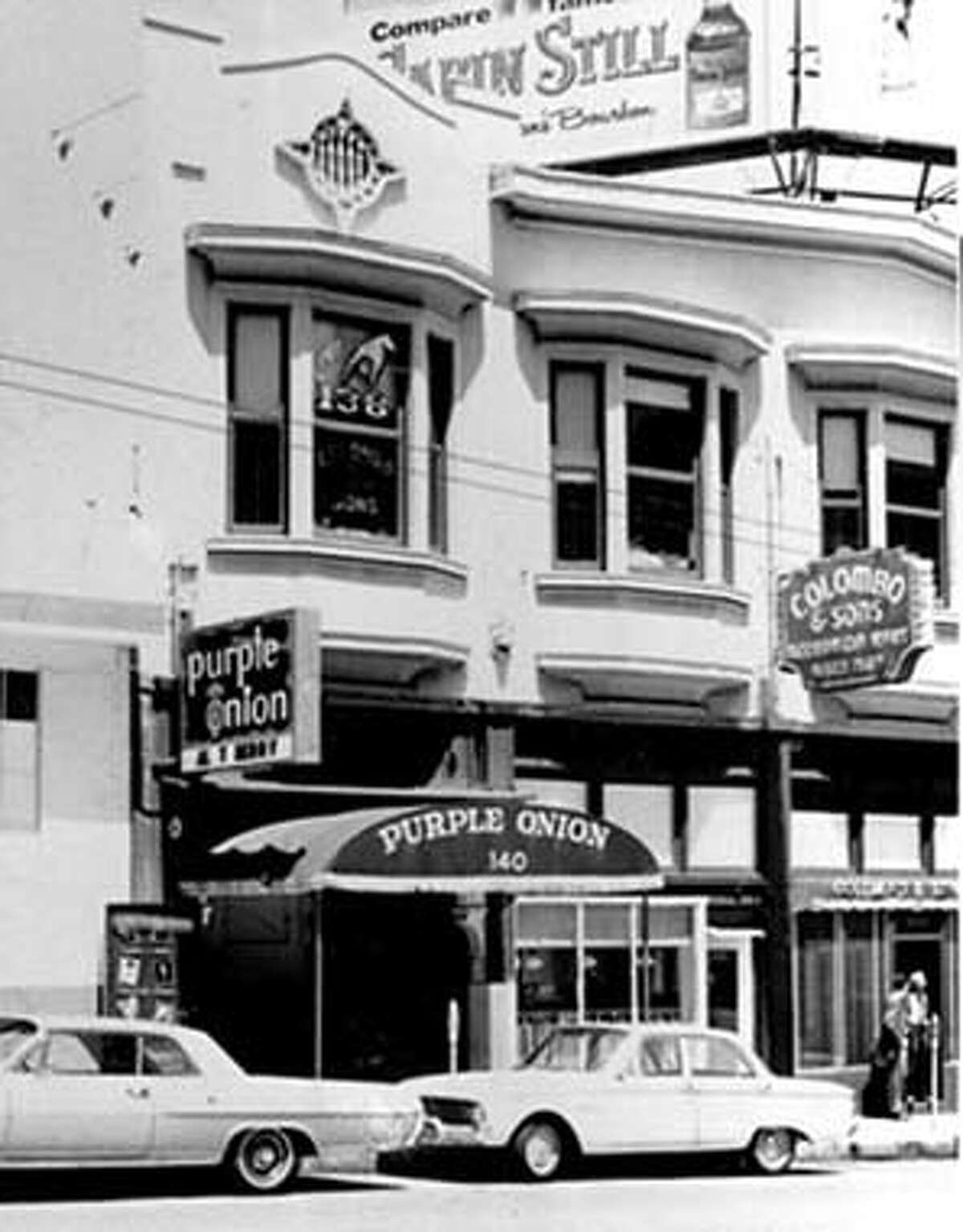 The Purple Onion circa 1960's. photo from the SF Library
