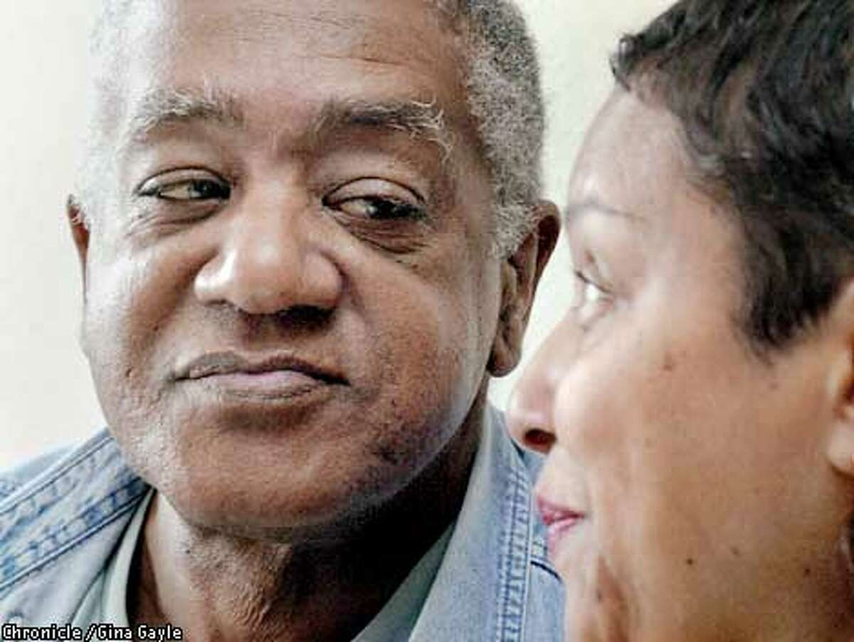 Black Panther co-founder Bobby Seale and his wife, a former Black Panther member also, Leslie Johnson-Seale have moved back to Oakland after living on the East Coast for years. Photo by Gina Gayle/The SF Chronicle.