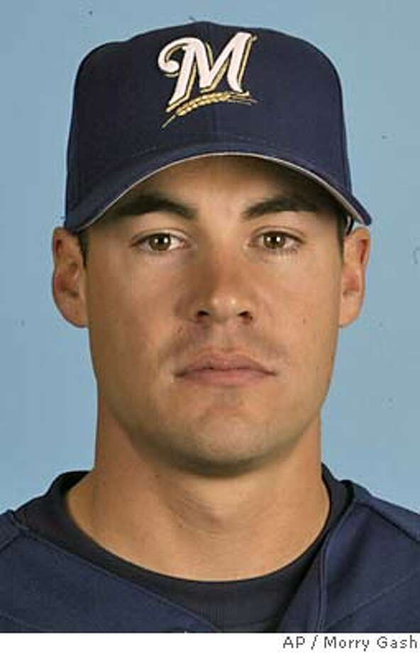 ** FILE ** This is a 2004 photo showing Milwaukee Brewers outfielder Scott Podsednik. The Brewers have extended Podsednik's contract for two years, through the 2006 season, the team said Wednesday May 5, 2004. (AP Photo/Morry Gash) Photo: MORRY GASH