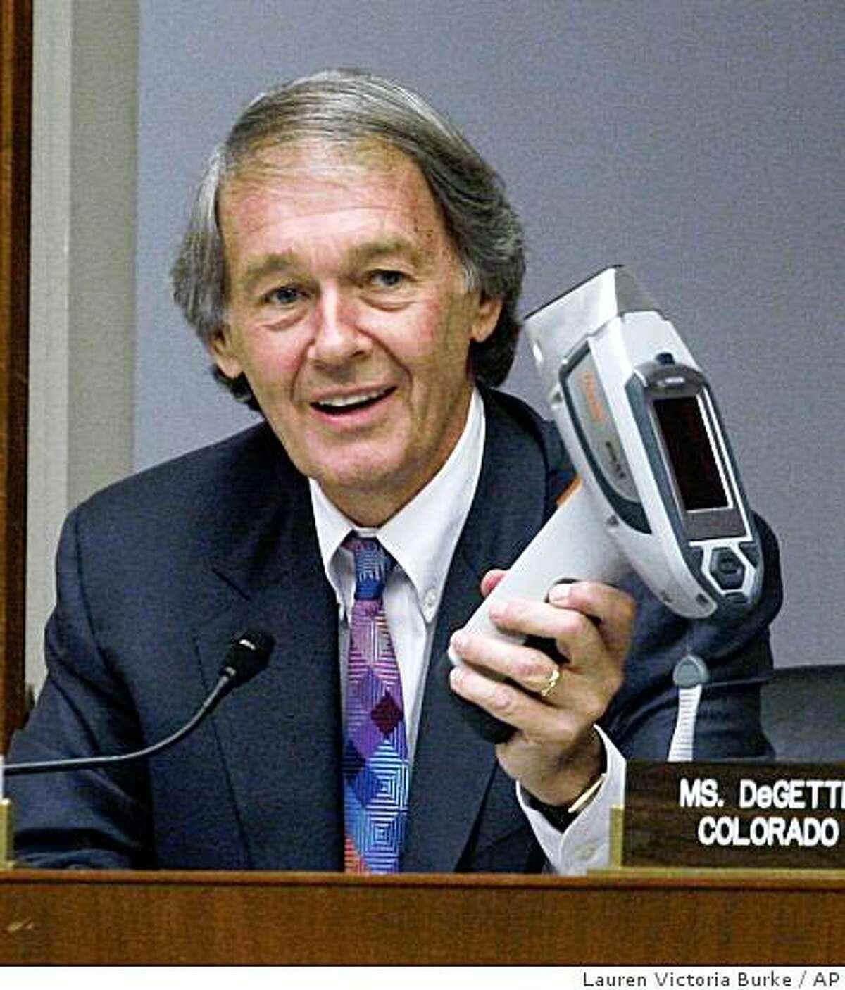 Rep. Edward Markey, D-Mass, Sept. 19, 2007