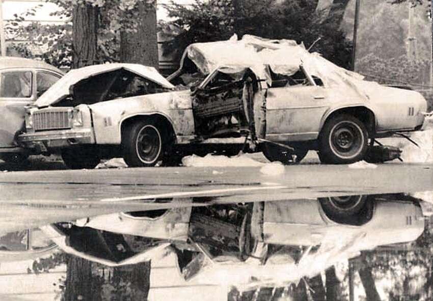 The car bomb that killed Orlando Letelier.