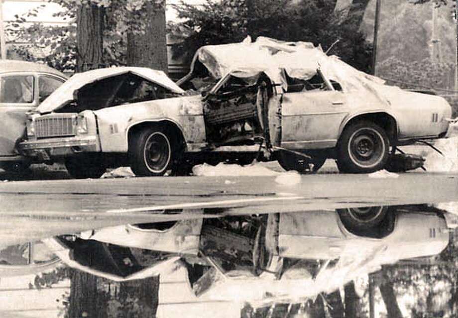 The car bomb that killed Orlando Letelier.