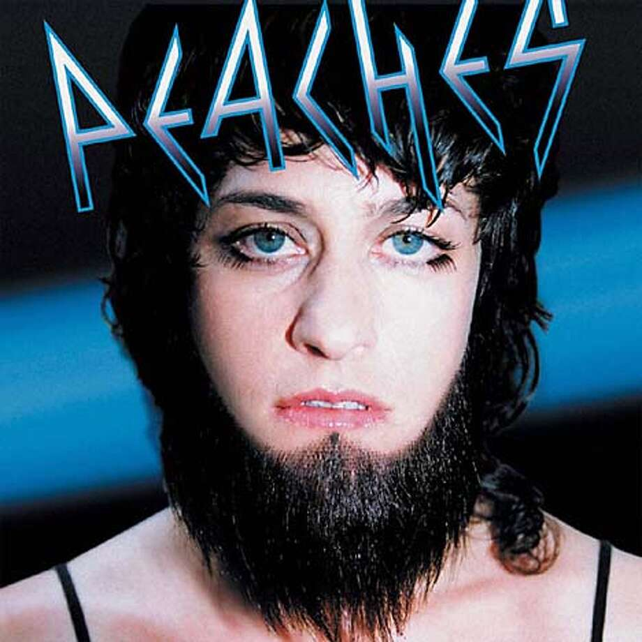 CD cover of FATHERFUCKER by the band PEACHES