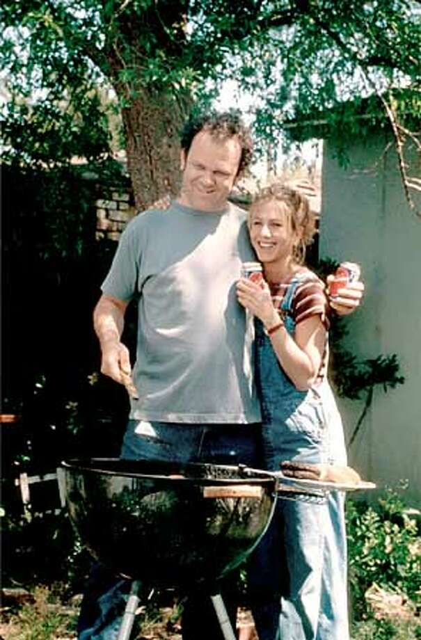 John C. Reilly and Jennifer Aniston in THE GOOD GIRL. PHOTO CREDIT: DALE ROBINTETTE Photo: HANDOUT