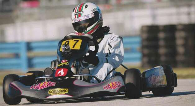 Tazio Torregiani, a 13-year old Stamford resident, is competeing in the Junior Class on the National Go_kart racing circuit. Photo: Contributed Photo / CT