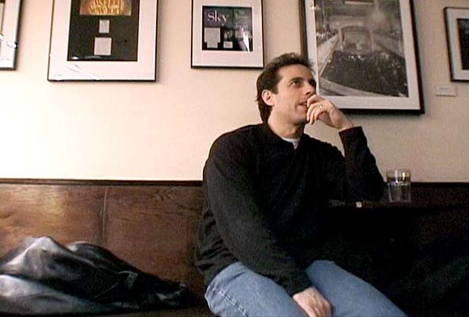 "Jerry Seinfeld in ""Comedian"": He was relieved when a club owner told him comics loved the film. Photo courtesy of Miramax Films"