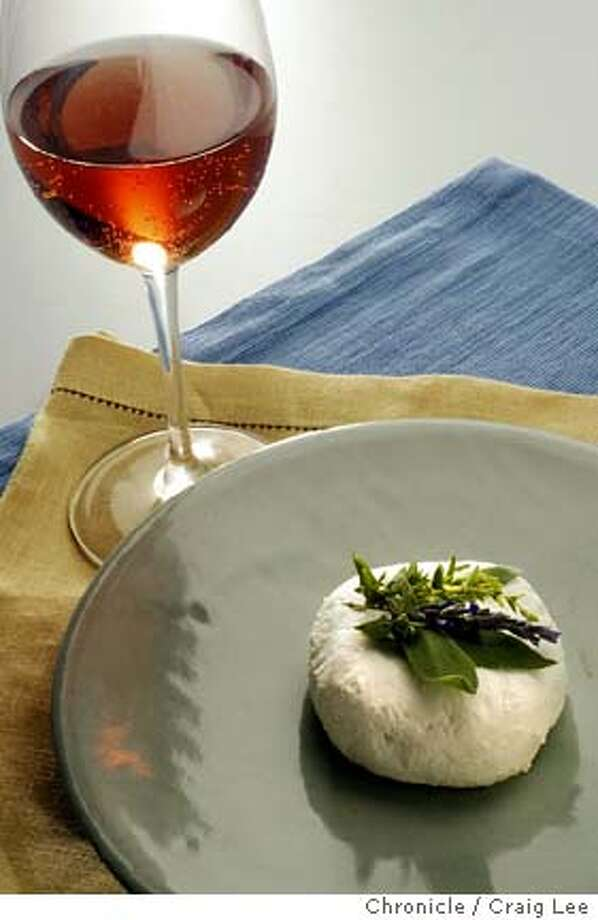 Andante fresh goat cheese from Santa Rosa. Food styled by Mercedes Stonefelt. Event on 4/30/04 in San Francisco. Craig Lee / The Chronicle Photo: Craig Lee