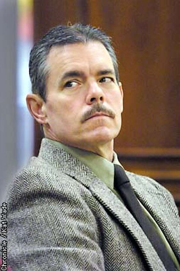 Kidnap/murder suspect, Larry Christopher Graham, appeared in the Superior Court room of Judge Barbara Zuniga as the trial of Graham begins 6 years after he was taken into custody on DNA evidence 13-years after the discovery of 5-year-old Angela Bugay's body in a shallow grave. The murder occured in 1983. SAN FRANCISCO CHRONICLE PHOTO BY KAT WADE Photo: KAT WADE
