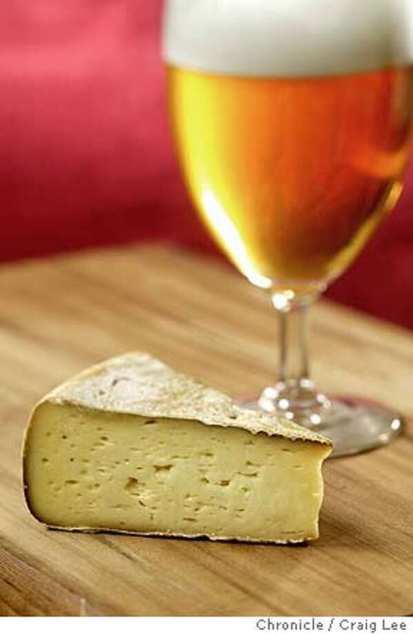 Irish cheese called Durras which goes best with beer. Food styled by Kevin J. Foy.  Event on 3/1/04 in San Francisco. Craig Lee / The Chronicle Photo: Craig Lee