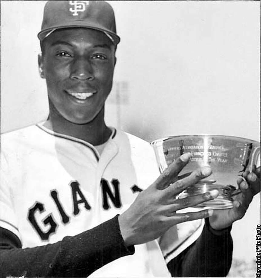The legendary Willie McCovey of San Francisco Giants in 1960. SPECIAL PREVIEW SECTION: BASEBALL `00