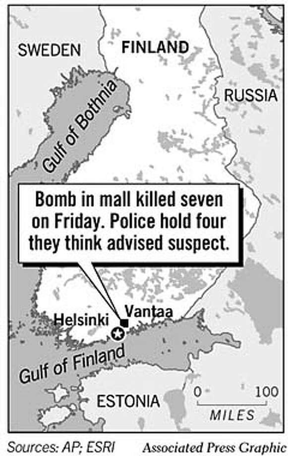 Finland. Associated Press Graphic