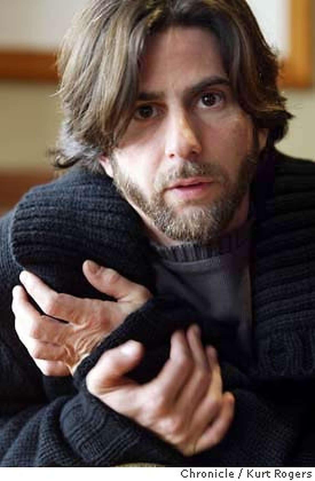 Israeli director Nir Bergman is in san Francisco to talk up his latest drama Broken Wings. Kurt Rogers/The Chronicle