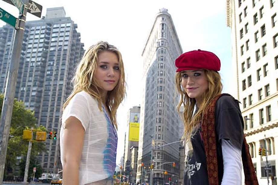 "ASHLEY OLSEN and MARY-KATE OLSEN star in Warner Bros. Pictures' action comedy ""New York Minute,"" distributed by Warner Bros. Pictures.  PHOTOGRAPHS TO BE USED SOLELY FOR ADVERTISING, PROMOTION, PUBLICITY OR REVIEWS OF THIS SPECIFIC MOTION PICTURE AND TO REMAIN THE PROPERTY OF THE STUDIO. NOT FOR SALE OR REDISTRIBUTION."