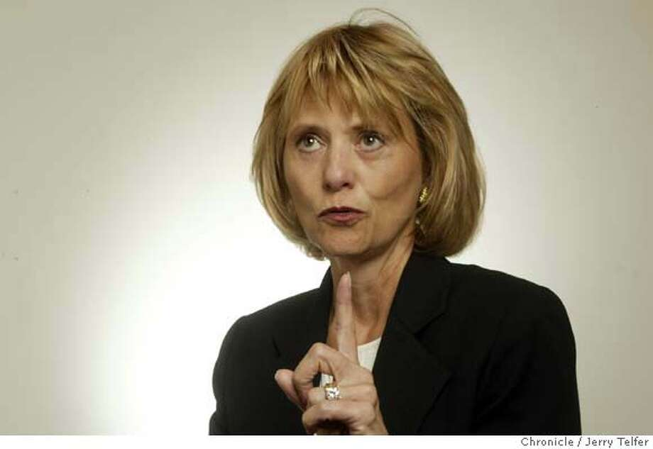 Carol Bartz, CEO of Autodesk.  Event on 1/22/04 in San Francisco. JERRY TELFER / The Chronicle ProductName	Chronicle MANDATORY CREDIT FOR PHOTOG AND SF CHRONICLE/ -MAGS OUT Photo: JERRY TELFER