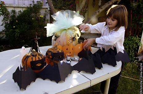ca3a8caa971dc6 Spooky stuff   Get out the old glue gun and decorate for Halloween - SFGate