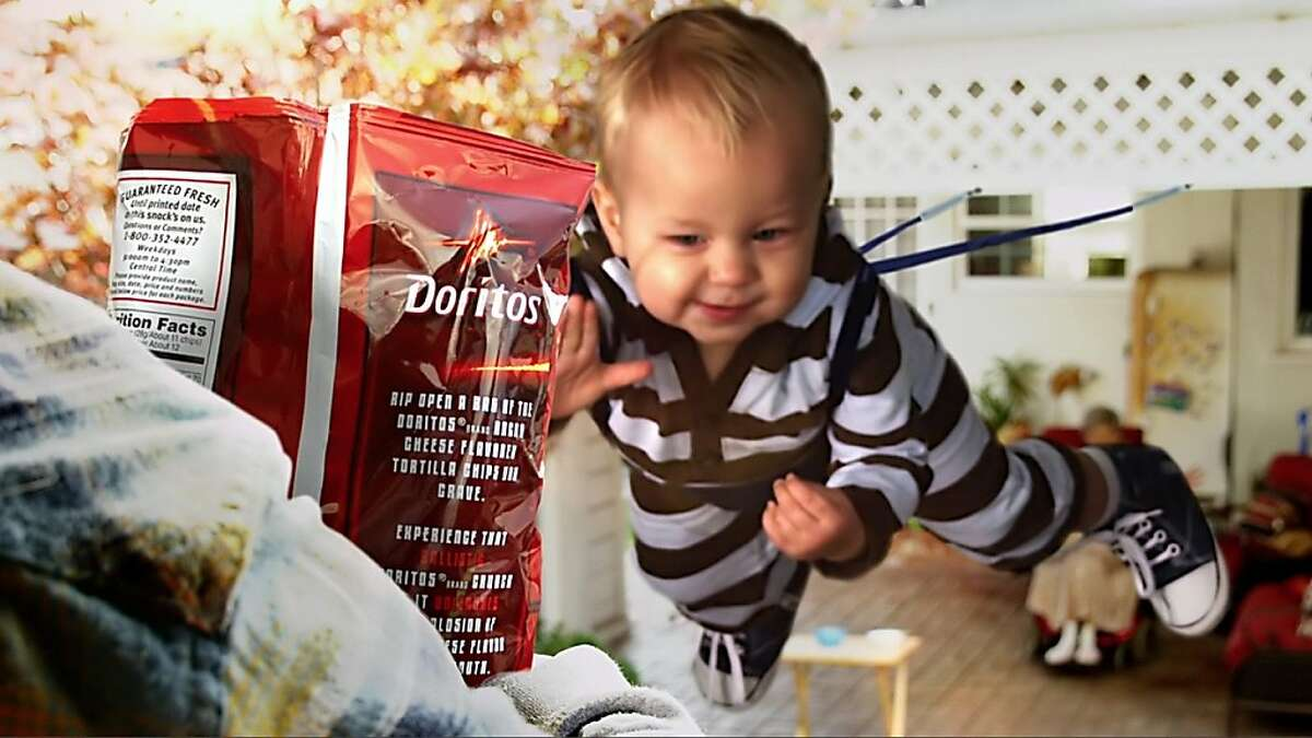Sling Baby is one of five Doritos consumer-created spots competing for airtime during this year s Super Bowl.
