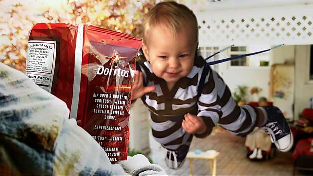 Sling Baby is one of five Doritos consumer-created spots competing for airtime during this year s Super Bowl. Photo: Frito-Lay