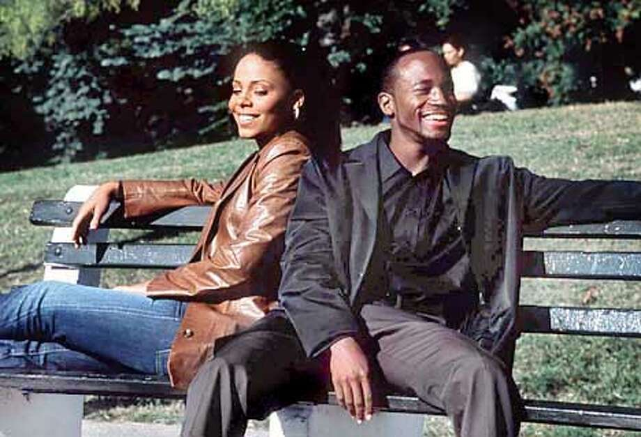 """Sweet talk: Sanaa Lathan and Taye Diggs play longtime friends in the romantic comedy """"Brown Sugar."""""""