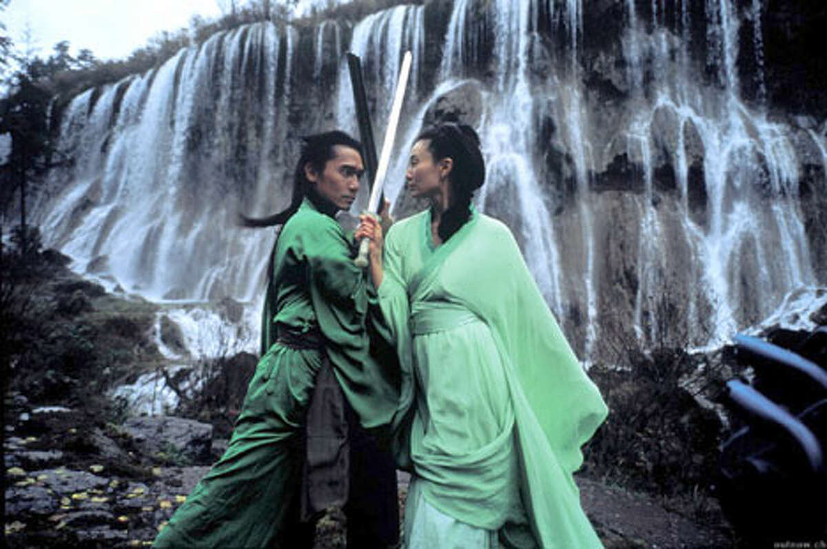 Tony Leung Chiu Wai and Maggie Cheung face off in the action-packed Hero, opening the Asian American Film Festival.
