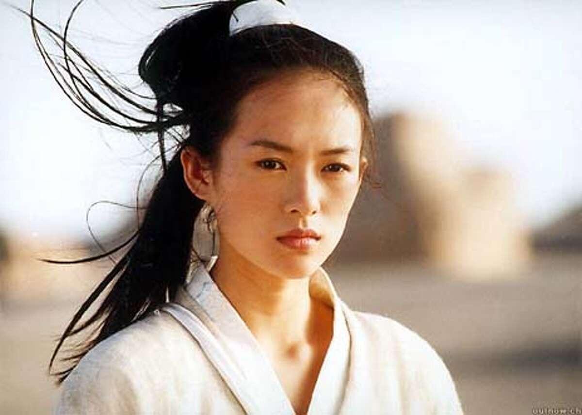 Zhang Ziyi in HERO, directed by Zhang Yimou 22nd San Francisco International Asian American Film Festival, March 4-21, 2004