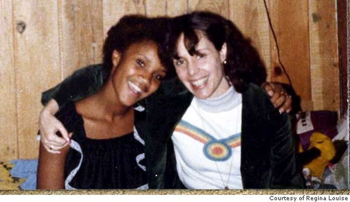 Regina Louise (L) and Jeanne Taylor together during Jeannes' visit to Regina's foster home in Feb. 1978. Jeanne Taylor attempted to adopt Regina Louise when Regina was a girl in foster care but was not allowed to do it. She says authorities deemed her a
