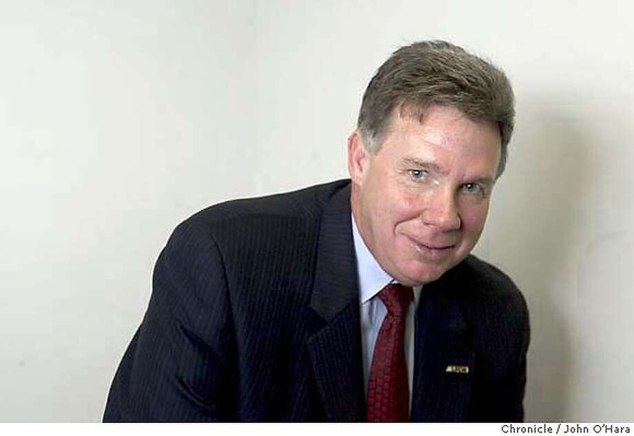 HARRIGAN28_043_OHARA.TIF  S F Chronicle, Interiew/photos  Sean Harrigan, board president of CalPERS, the nations largest pension fund photo/John O'Hara Photo: John O'Hara