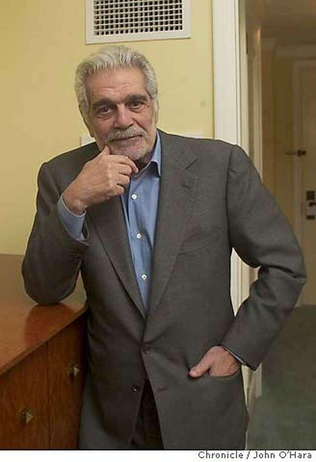"Four Season Hotel, 757 Market st. San francisco,CA  Omar Sharif, Actor age 71. In a new film ""Monsieur Ibrahim""  photo/John O'Hara Photo: JOHN O'HARA"