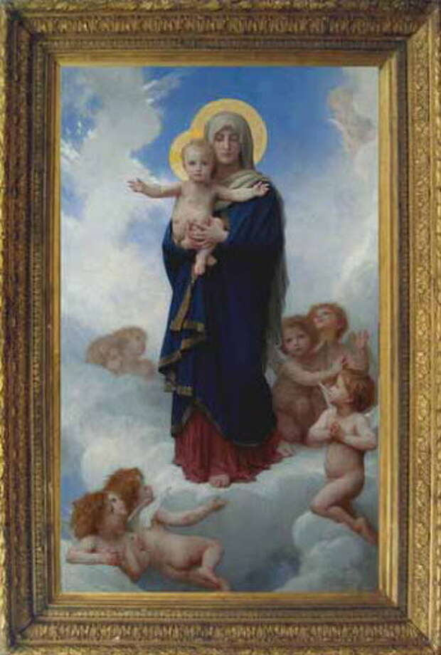 """""""Notre Dame des Anges"""" an 1889 painting by William-Adolphe Bouguereau. (Provided photo)"""