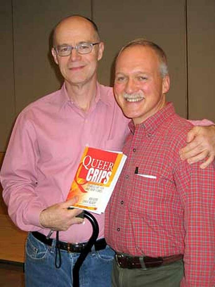 / for: Book Review (l-r) John Killacky and Bob Guter