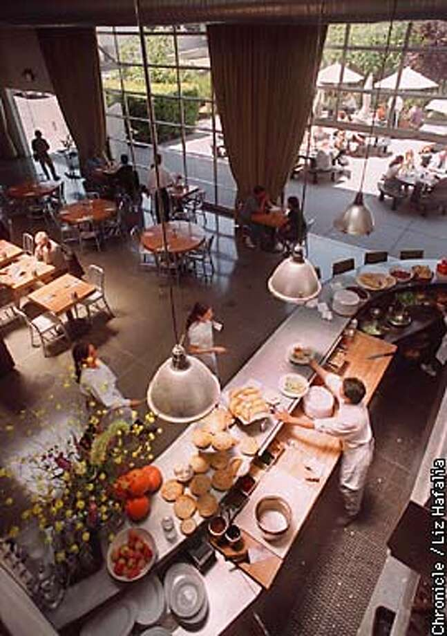 42 DEGREES/C/31MAY95/FD/LH-This is a file photo of 42 Degrees Restaurant in SF. BY LIZ HAFALIA/THE CHRONICLE Photo: LIZ HAFALIA
