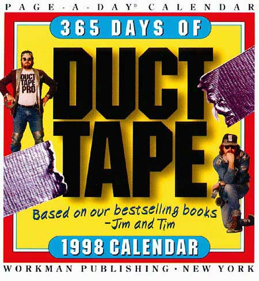"HANDYMEN: Jim and Ed offer testimonials, history and hints in ""365 Days of Duct Tape."""